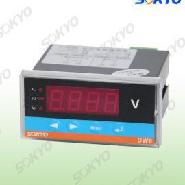 厂家直销电压表,DW8数字电压表,直流电压表