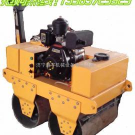 腾宇机械|小型双轮压路机|手扶式柴油压路机|