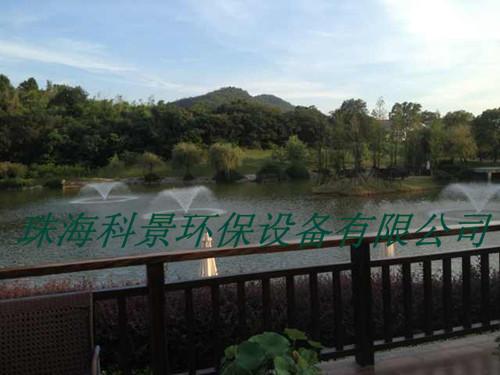公园景观湖水处理设备喷泉曝气机