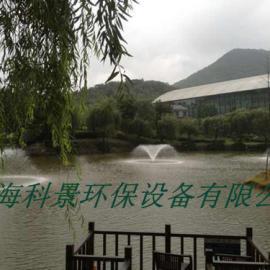 增氧喷泉曝气机设备|景观湖泊水处理