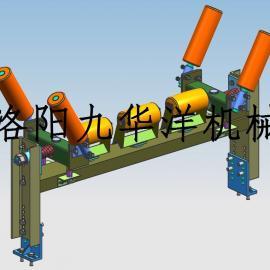 皮带机双向浮动校正器皮带防跑偏治理,纠偏校正