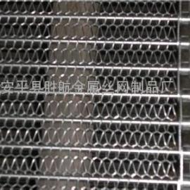 供应菱形不锈钢输送带,食品链条输送带,304网带规格