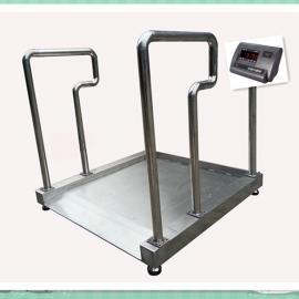 带扶手透析体重秤,300kg透析轮椅秤