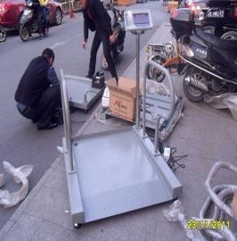 透析医用轮椅秤讲信誉厂家,带扶手透析体重秤