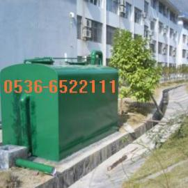 学校生活污水处理设备(学生宿舍楼大学校园)