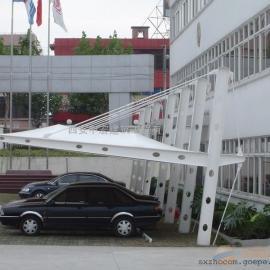 西安张拉膜结构车棚制作厂家-膜结构车棚制作厂家
