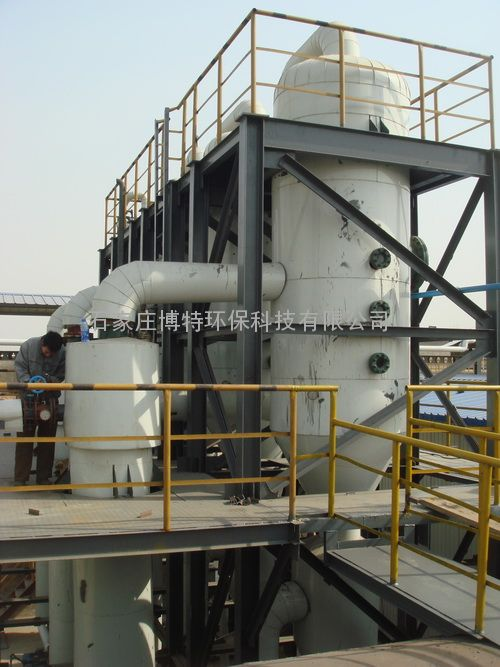 三效含盐废水强制循环蒸发器图片 高清大图 谷瀑环保
