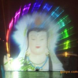西安激光水幕电影设备