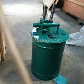 SJB-V25手动加油泵-启东市宏南冶金机械