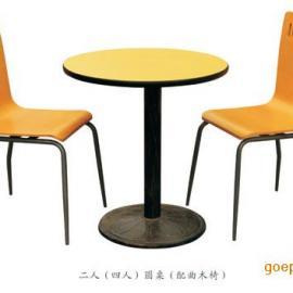 四川快餐桌椅.中式快餐店桌椅.成都餐桌椅厂.分体快餐桌