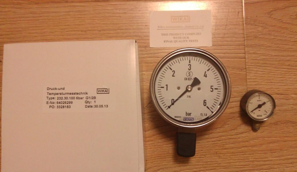 wika耐震不锈钢压力表