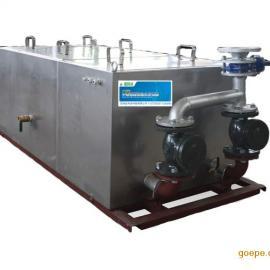 除渣强排型油水分离器,隔油强排设备,厨房废水隔油排提升器