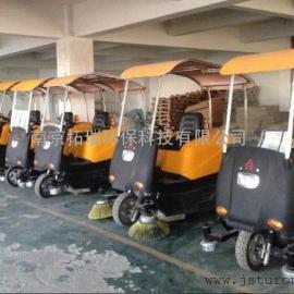 驾驶式清扫车︱驰洁驾驶式电动吸尘清扫车CJZ145-3