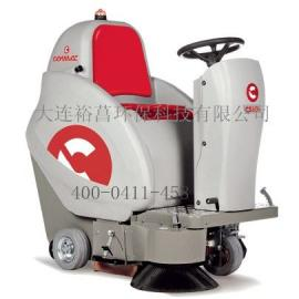 无尘清扫车 电瓶驱动驾驶式无尘清扫车