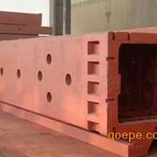 龙门铣床身铸件