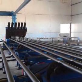 钢管抛丸机(除锈机)-钢管内外壁喷丸机厂家