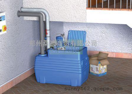进口地下室污水提升器60L/90L/150L/250L