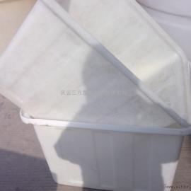 400L牛筋塑料水箱方箱周转箱养鱼养龟专用养殖箱水