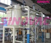 SINOVAC粉煤灰车间真空吸尘系统