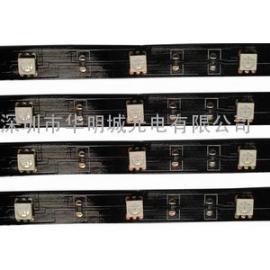 5050rgb灯带厂家/不防水led灯条/RGB裸板软灯条