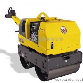 供应德国威克手扶双钢轮振动压路机RD 7H-S