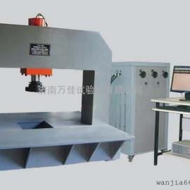 可再生树脂井盖压力试验机,60T数显井盖压力检测设备
