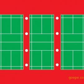 关于羽毛球场馆内布灯问题,羽毛球馆照明灯具排列方式