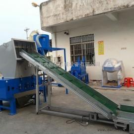 东莞塑料粉碎机,塑料粉碎输送一体机,塑料破碎自动回收一体机