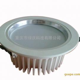 重庆绿庆1W天花灯 LED天花射灯 家用装饰灯 门面灯泡