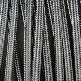DN65耐磨喷煤粉用快速接头式金属软管