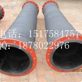 供应耐磨大口径吸排泥胶管