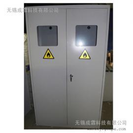 常州气瓶柜(装有智能报警装置、智能排风扇)全自动气瓶柜生产
