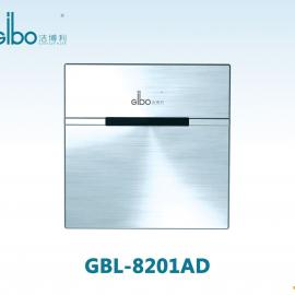 Gibo洁博利 不锈钢面板小便斗感应器 小便感应冲水阀