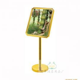太原指示牌定做厂家�运城酒店大堂指示牌批发价格迎宾牌钛金