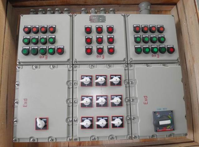 多路防爆配电柜 多路电磁起动防爆配电柜 浙江防爆配电柜