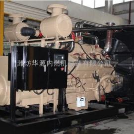 50kw 潍柴天然气发电机 燃气专用发动机 进口配件