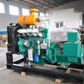 80kw 潍柴天然气发电机 燃气专用发动机 全自动