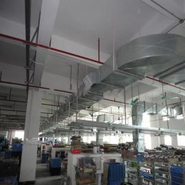 惠州工厂车间通、送风工程