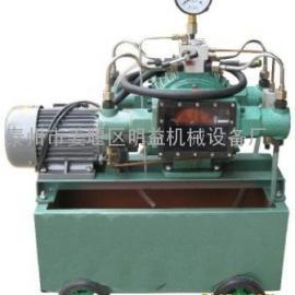 厂家直销电动试压泵,试压泵,手动试压泵,手提式电动试压泵
