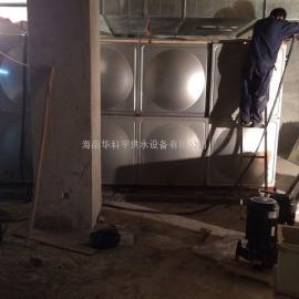 文昌双层不锈钢保温水箱