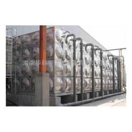 儋州双层不锈钢保温水箱
