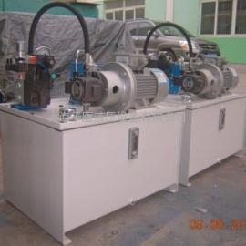 路障液压动力泵站,液压油缸成套设备