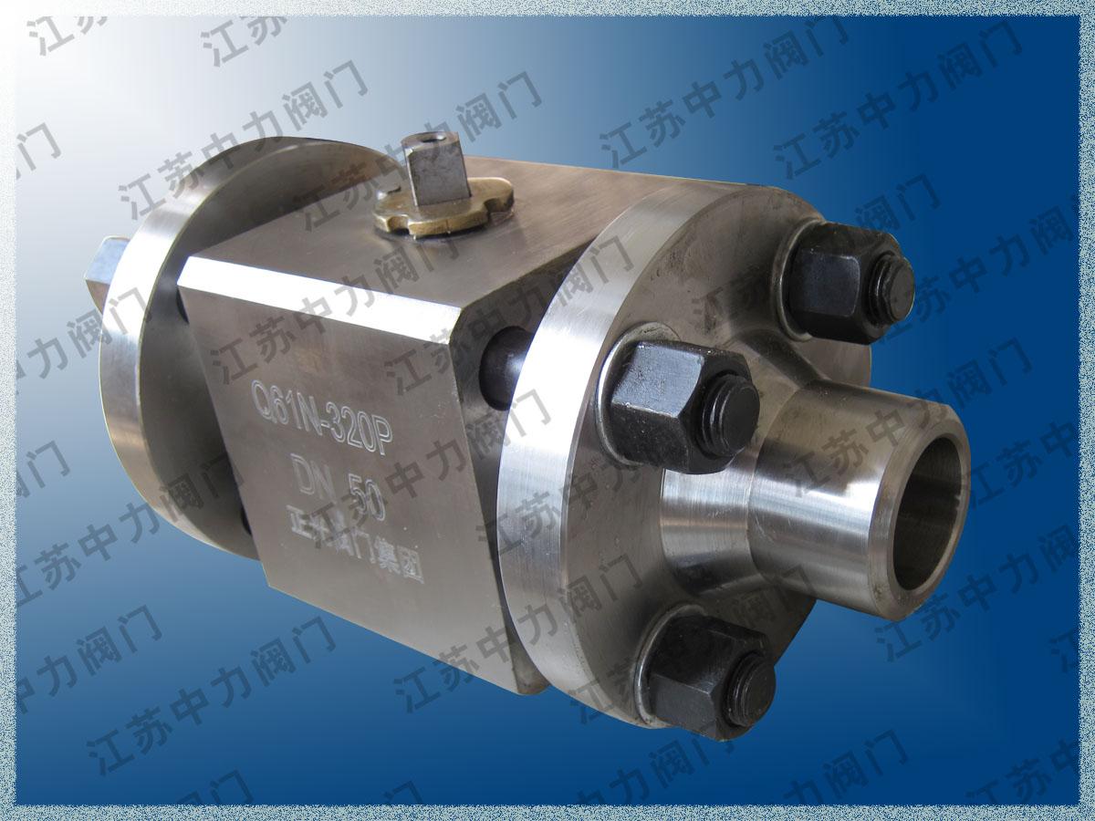 中力不锈钢Q61N三块式焊接球阀
