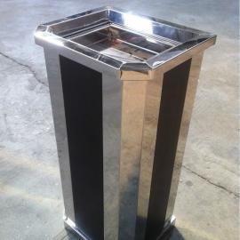 清洁垃圾桶定做―方形201不锈钢垃圾桶价格―酒店烟灰桶厂家