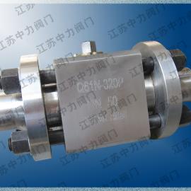 CNG高压对焊球阀
