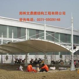 郑州膜结构自行车棚