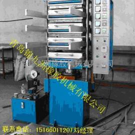 橡胶地砖专用硫化机,80t地砖硫化机生产线