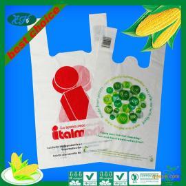100%玉米淀粉生物全降解袋(购物袋、手提袋、背心袋)
