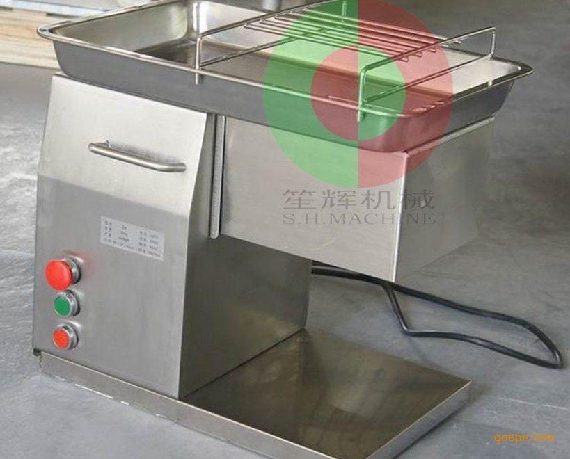 v视频全自动不锈钢视频切片机|小型切猪肉机|厂搞笑肉片图片