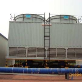北票/兴城圆形逆流式冷却塔 工业型冷却塔 方形横流式冷却塔
